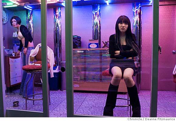 Image: South Korean sex worker. Olga and Rosaria- Russia